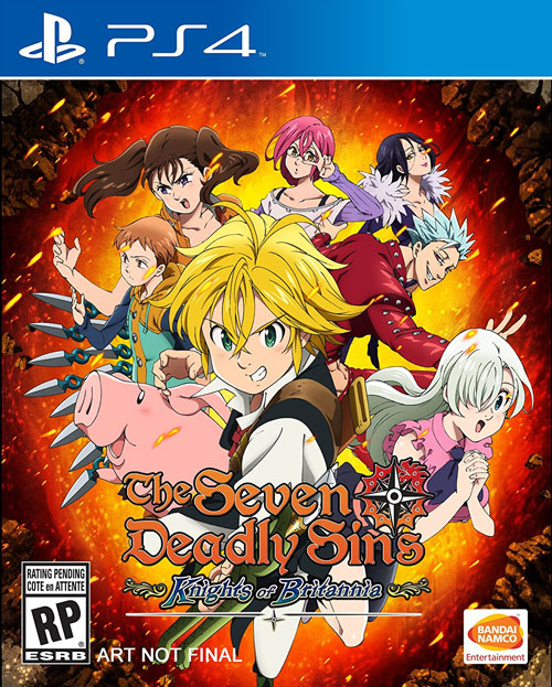 Seven Deadly Sins: Knights Of Britannia