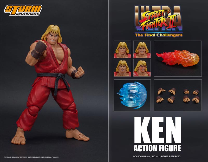 Ultra Street Fighter II Ken Storm Collectibles AF additional poses