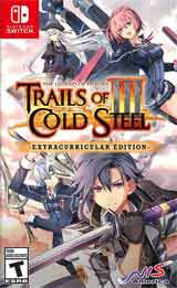 Legend of Heroes: Trails of Cold Steel III Extracurricular Edition