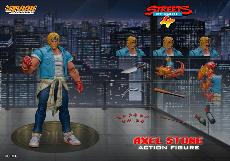 Streets of Rage 4 Alex Storm Collectibles AF additional img