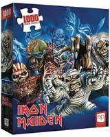 Iron Maiden Faces Of Eddie 1000 Piece Puzzle