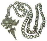 Final Fantasy VIII Squall's Sleeping Lionheart Necklace