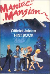 Maniac Mansion Official Hint Book