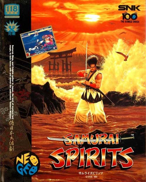 Samurai Spirits Neo Geo AES