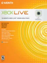 Xbox 360 Live Vision Gold Pack