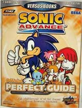Sonic Adventure 2:Battle/Sonic Advance Official Perfect Guide Book