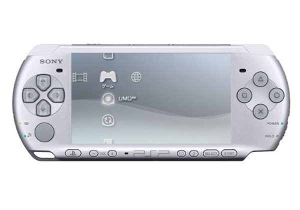 Sony PSP 3000 Core System - Mystic Silver