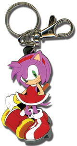 Sonic the Hedgehog Amy Rose Keychain