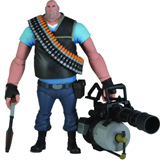 Team Fortress 2 Series 2 Blu Heavy Deluxe Action Figure