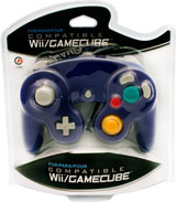 GameCube Cirka Controller Indigo