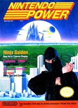 Nintendo Power Volume 5 Ninja Gaiden