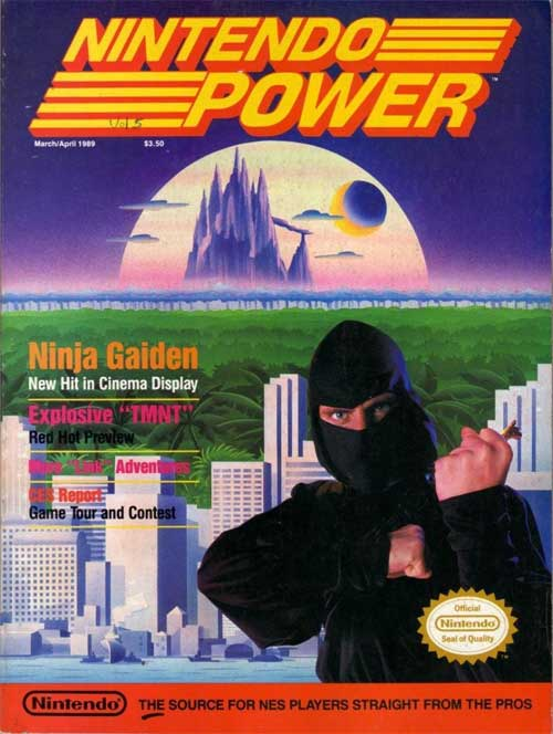 Nintendo Power Volume 5 Ninja Gaiden