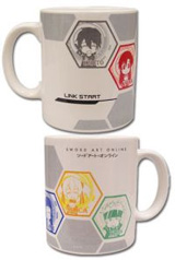 Sword Art Online: SD Group Mug