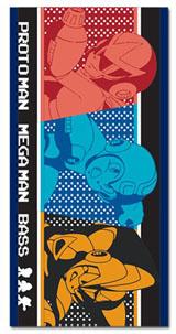 Mega Man 10: Protoman, Mega Man & Bass Bath Towel