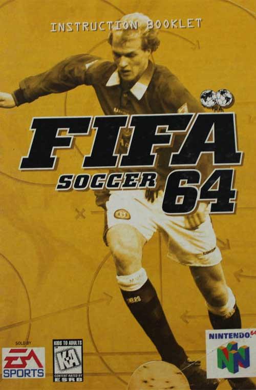 FIFA Soccer 64 (Instruction Manual)