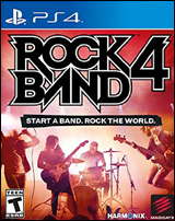 Rock Band 4 Software Only