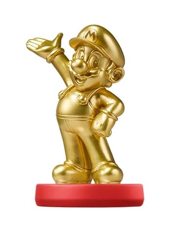 amiibo Mario Gold Edition