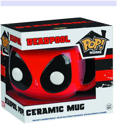 Pop! Deadpool Head 12oz. Mug