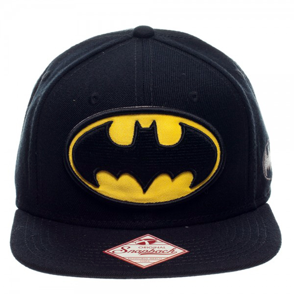 6193dd2d59db Buy Merchandise Batman Logo Black Snapback