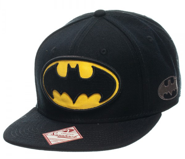 Batman Logo Black Snapback