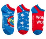 DC Comics Wonder Woman Ankle Socks 3 Pack