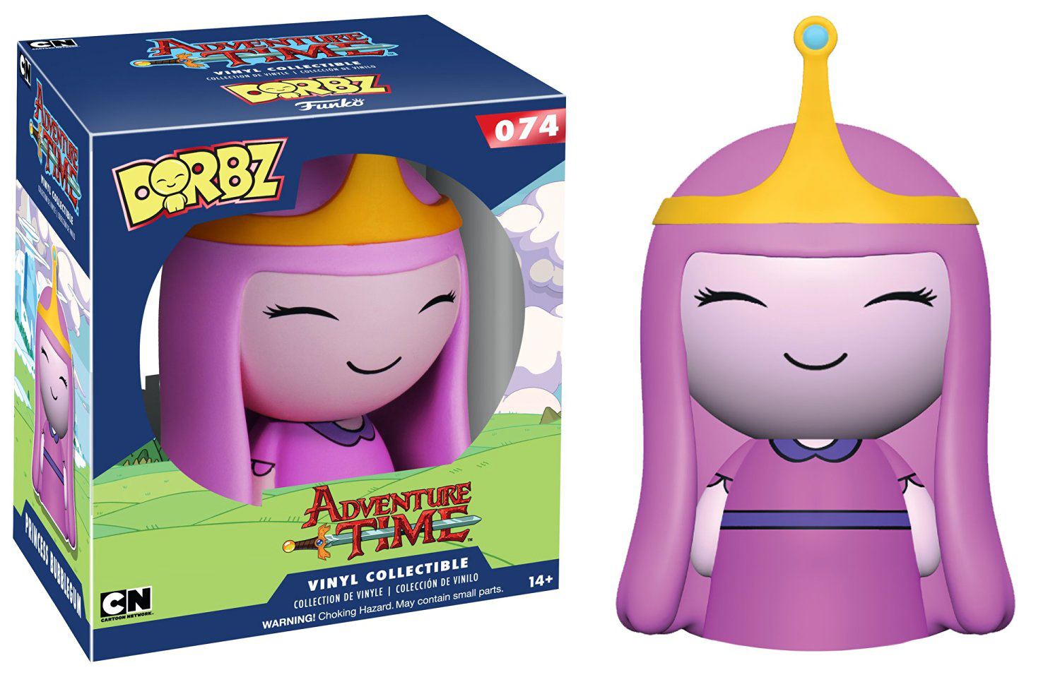 Dorbz Adventure Time Princess Bubblegum Vinyl Figure