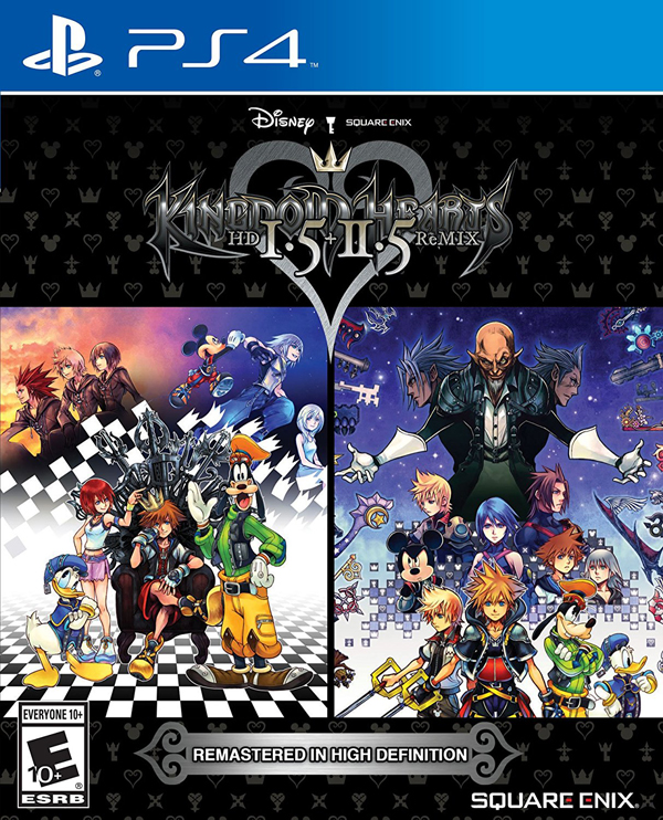 Kingdom Hearts 1.5 + 2.5 HD ReMix
