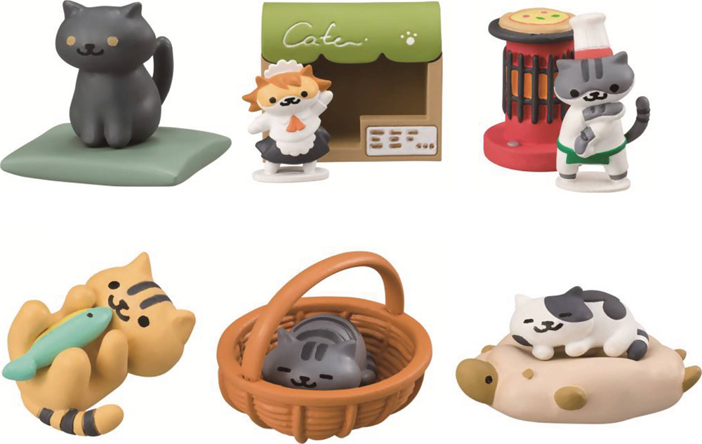 Neko Atsume Kitty Collector Desktop Fig