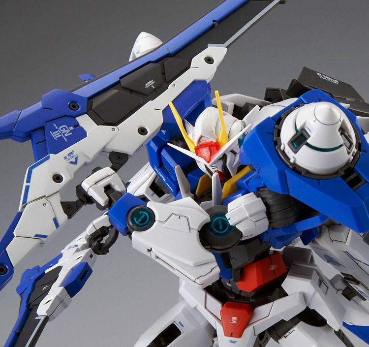 Mobile Suit Gundam 00 Raiser 1/100 Scale Perfect Grade Model Kit
