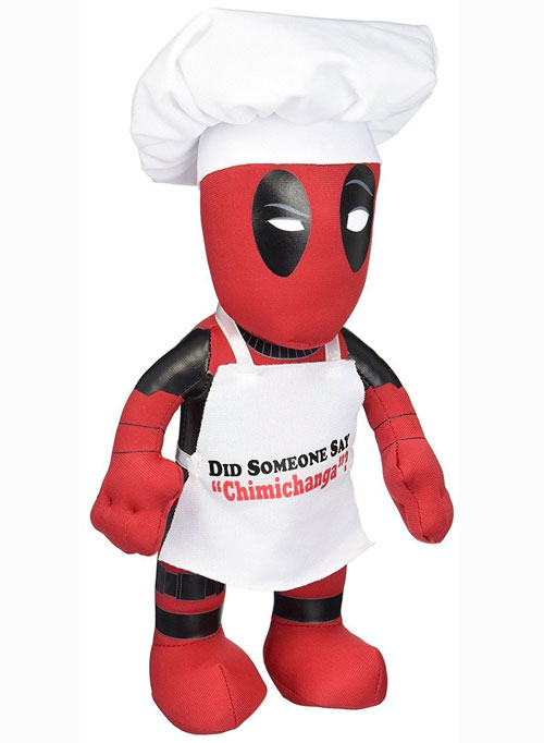 Marvel Heroes Chef Deadpool 10 Inch Plush