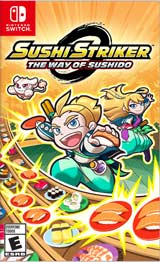 NSW Sushi Striker: The Way of The Sushido Boxart