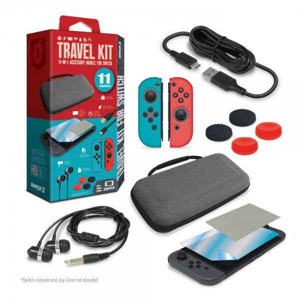 Armor3 Travel Case for Nintendo Switch items