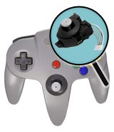 Nintendo 64 Repairs: Controller Analog Stick Replacement Service