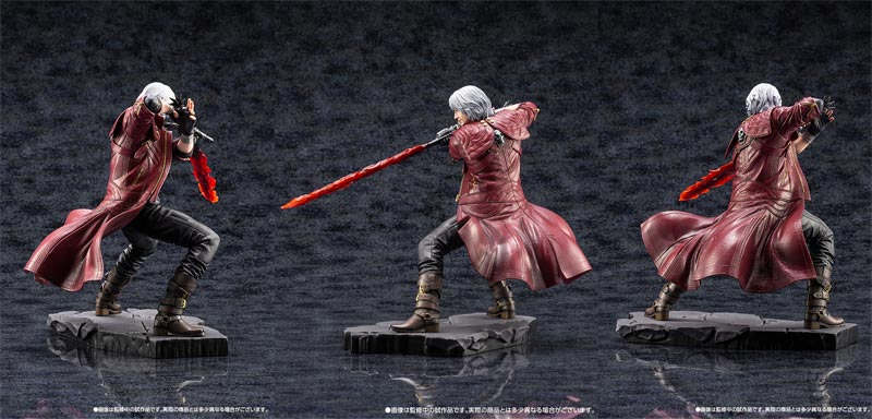 Devil May Cry 5 Dante ArtFX J Statue additional angles