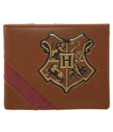 Harry Potter Hogwarts Crest Bi-Fold Wallet