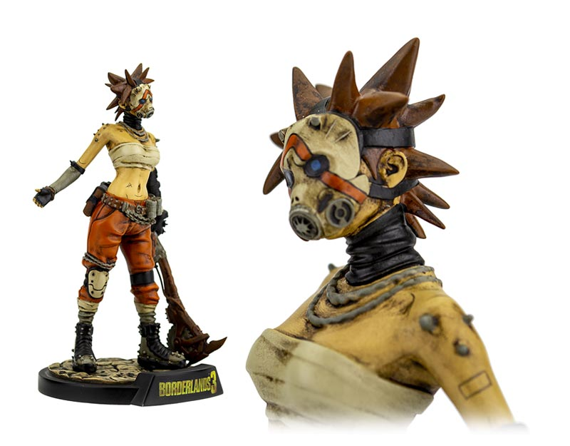 Borderlands 3 Female Psycho Bandit 7IN Vinyl Figure additional angles