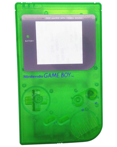 Game Boy Housing Shell Replacement Service Clear Green