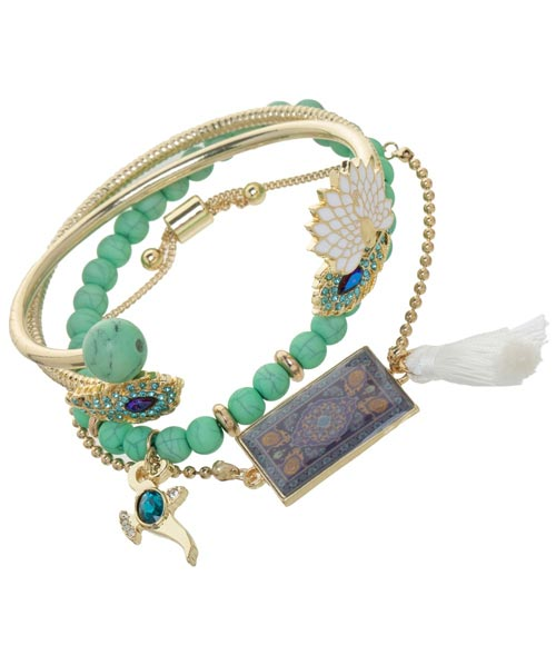 Disney's Aladdin 4 Piece Bracelet Set
