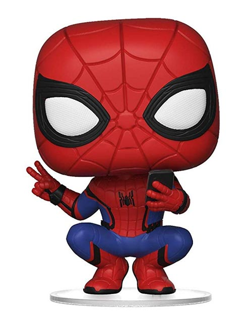 Pop Marvel Spider-Man Far From Home Hero Suit Vinyl Figure