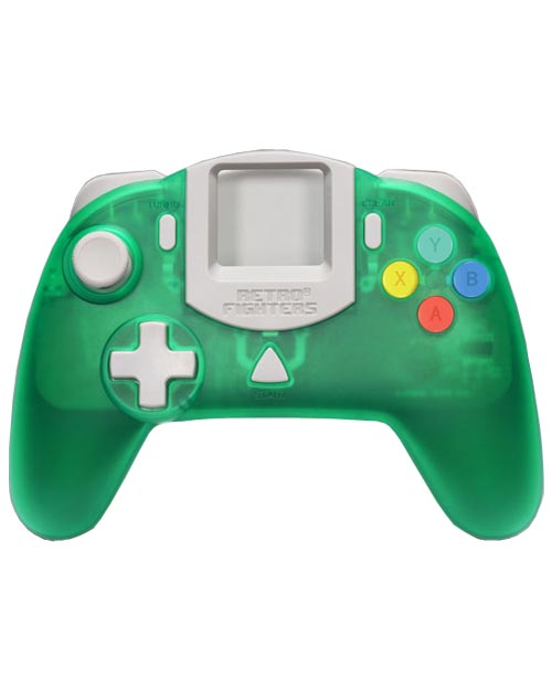 Dreamcast StrikerDC Green Controller by Retro Fighters