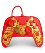 Nintendo Switch Wired Controller Super Mario Golden M