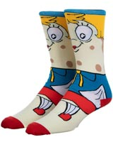 SpongeBob SquarePants Mrs Puff 360 Character Crew Socks