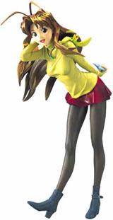 Love Hina Naru Narusegawa in Yellow 1/6 Scale Statue