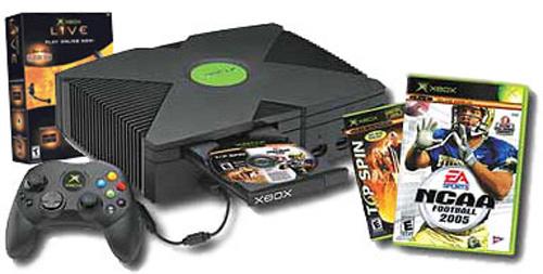 Microsoft Xbox Game System Holiday 2004 Bundle
