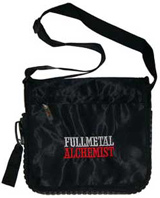 Fullmetal Alchemist Logo Black Zip Pac Bag