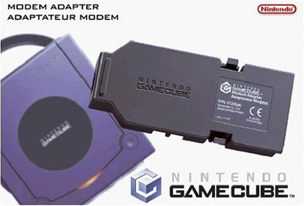 GameCube Modem Adapter by Nintendo