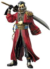 Final Fantasy X Play Arts Auron Action Figure