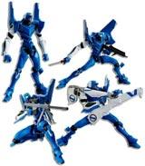 Neon Genesis Evangelion EVA UNIT-00 Prototype Blue Revoltech Action Figure