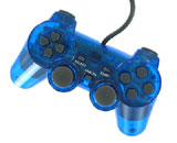 PS2 Controller Blue