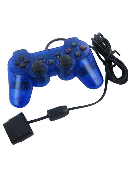 PS2 Controller Blue